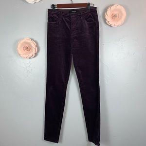 J Brand Corduroy Hi Waisted Pants Sz 28 M911
